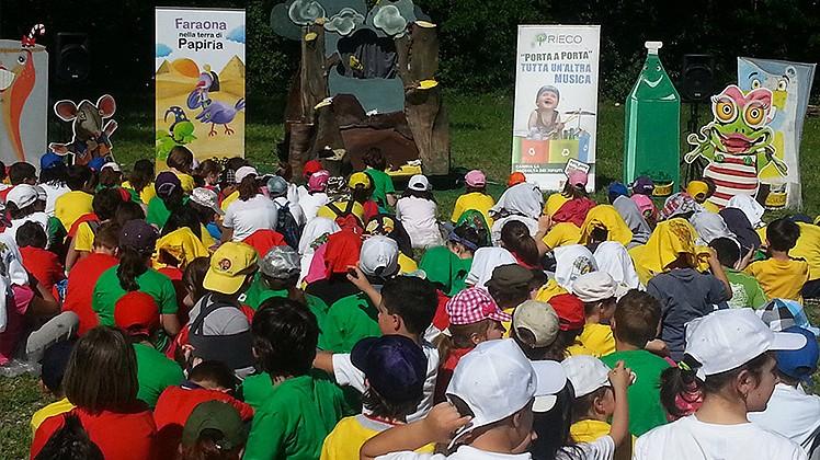 Riciclolimpiadi di Ripe: una giornata di giochi per oltre 500 bambini